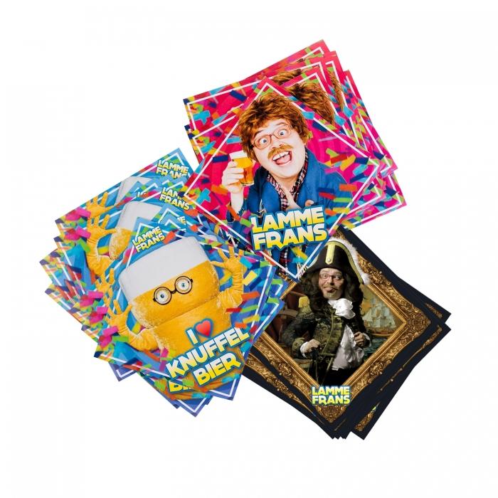 Lamme Frans Stickerpakket (33 stuks)